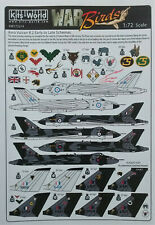 Kits World 1/72 KW172214 Avro Vulcan B.2 Early to Late  Decal Set
