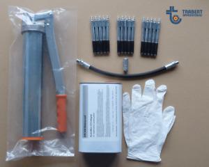 Handhebelpresse 550ccm Set für Giesharz Injektionsharz Epoxidharz Stahlpacker