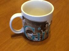 Awesome HUGE Girl Scouts Coffee Mug! Embossed, Unused