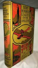 JULES VERNE EIGHT HUNDRED LEAGUES ON THE AMAZON CIRCA 1920