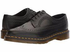 Zapatos de Hombre Dr. Martens 3989 y/s cuero punta del ala Brogue Oxford 22210001 Negro