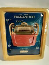RADIO PEDOMETER SPORTLINE PLATINUM VINTAGE