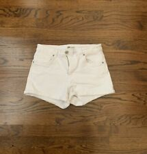 Zara Authenic Denim By TRF White Shorts