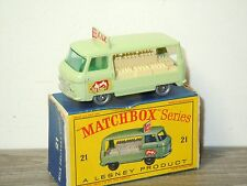 Commer Bottle Float - Matchbox Lesney 21 England in Box *30445