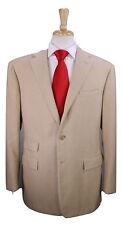 * RALPH LAUREN * Purple Label ITALY Solid Camel 100% Cashmere 2-Btn Suit 42R