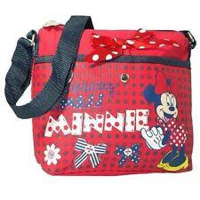 Disney Minnie Red Bow Shoulder Bag Messenger Body Cross Travel School