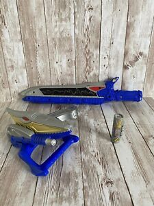 Power Rangers - Dino Charge Gold Ptera Morpher and Blue Sword + No 6 Charger
