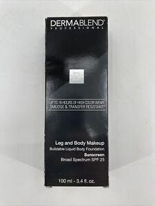 Dermablend Leg & Body Makeup SPF 25 in Fair Nude 0N - 3.4 oz NEW IN BOX L3