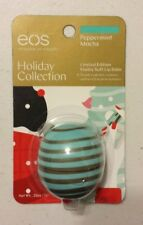 New Eos Limited Edition Holiday Collection Peppermint Mocha Lip Balm