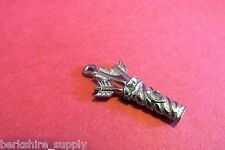Fifty Pewter Bow And Arrow Quiver Charms