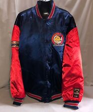 Vintage Cleveland Indians Cooperstown Collection Baseball Nylon Jacket XL