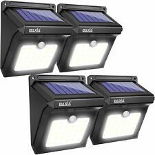 Motion Sensor Lights Outdoor Solar Garden Security Lighting Waterproof Set of 4