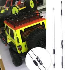 2pcs/Kit Metal Antenna For Traxxas TRX-4 RC CrawlerTruck  Climbing Car Accessory