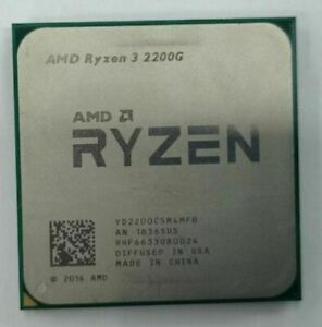 AMD Ryzen 3 2200G 3.5GHz AM4 Socket Processor (YD2200C5M4MFB)