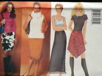Butterick Sewing Pattern 6672 Ladies Misses Skirts Size 18-22 Uncut