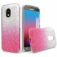 For Samsung Galaxy Smartphone Slim Sparkling 2 Tone TPU Silicone Gel Case Cover