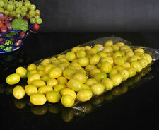 100 Artificial mini lemon  Fake Fruit faux food Model House  Decorative