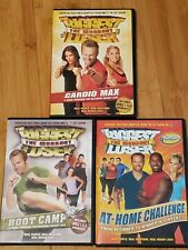 The Biggest Loser, Set of 3 Workout Dvds, Pre-owned