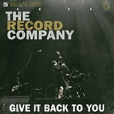 Record Company - Give It Back to You [New Vinyl]