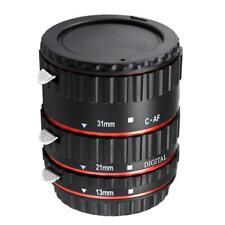 Kit de Autofoco Tubos de Extensíon Macro para Canon EOS EF-S Lente DSLR Foto