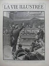 LA VIE ILLUSTREE 1899 N 23 L'AFFAIRE URBAIN GOHIER