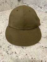 Vintage Vietnam US Army Military Green Field Cap Hat Ace MFG Co Inc Size 6 7/8
