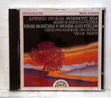 VACLAV TALICH - DVORAK symphony no.8 SMETANA ma vlast SUPRAPHON CD NM