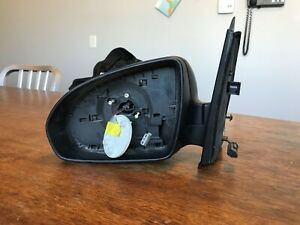 BLACK Side Mirror housing LEFT Fits SMART Fortwo Cabrio Coupe 2007- A4518102716