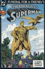 DC COMIC SUPERMAN FUNERAL FOR A FRIEND/5   # 499 BIN 23