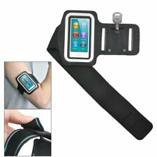 Black Sports Gym Jogging Black Armband Case Cover for Apple iPod Nano 7 7th S5K5