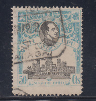 ESPAÑA (1920) USADO - EDIFIL 306 (50 cts) ALFONSO XIII CONGRESO UPU - LOTE 1