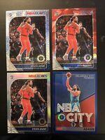 STEVEN ADAMS SILVER PRIZM RED CRACKED ICE MOJO NBA CITY BLUE NBA HOOPS PREMIUM