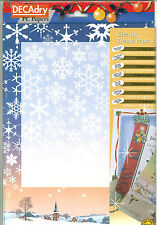DecaDry SPF-6641 A4 Christmas Greeting Letterhead Invitation Paper Card