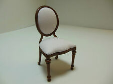 Dollhouse Miniatures Furniture 1/12: 4061wn Upholstered Chair