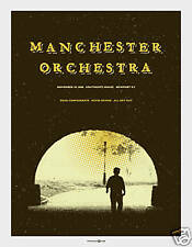 Manchester Orchestra November 2008 Limited Gig Poster