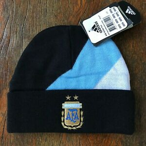 Argentina AFA Adidas Beanie Official vintage. NEW. Wool. Unique!