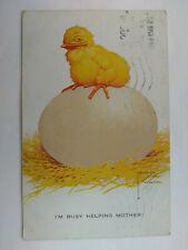 Lawson Wood Comic Vintage colour Postcard 1928 Chick