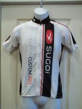 New Sugoi Womens RS Jersey Medium White/Black/Red Cycling