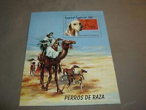 Saluki Dog Stamp, Saharaui, Perros De Raza