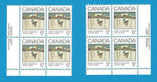 1980 Canada 17 Cent Stamps Christmas Greeting Cards Scott*871 2 x Corners