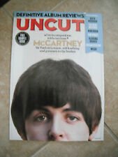 Paul McCartney Beatles Lennon UNCUT Sample Magazine Cover Photo NEW