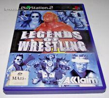 Legends of Wrestling PS2 PAL *Complete*
