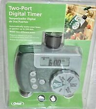New Lot Of 3 Two Port Orbit Digital Auto Water Release Timers