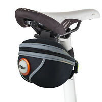 Bicycle Saddle Bag With Light Waterproof Cycling Seat Bag Portable Bike Pannier