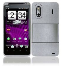 Skinomi Brushed Aluminum Phone Skin+LCD SP for HTC Evo Design 4G Boost Mobile