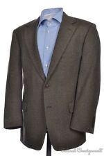 BROOKS BROTHERS Brown Herringbone Lambswool Tweed Blazer Sport Coat Jacket 40 S