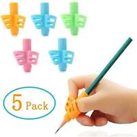 5 Pcs/set Children Ergonomic-Posture Correction Training Grip Pencil Holder Tool