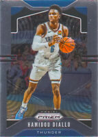 Hamidou Diallo 2019-20 Panini Prizm Basketball Chrome Base Card #184 OKC Thunder