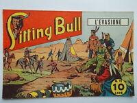 l'evasione albo saturniasitting bull111949fumetti western Marijac Dut