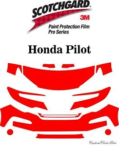 3M Scotchgard Paint Protection Film Pro Series Fits 2019 2020 Honda Pilot
